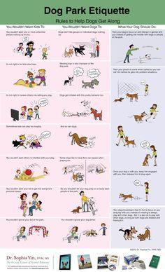 Dog Training Tips Dog Park Etiquette Dog Tricks, Maltese, Puppy Socialization, Dog Poster, Dog Care Tips, Pet Care, Dog Park, Dog Training Tips, Training Schedule