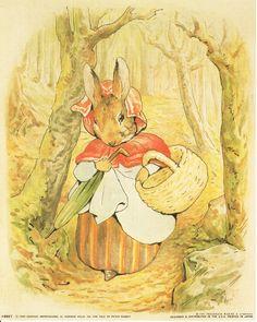Amazon.com: Beatrix Potter - The Tale of Peter Rabbit Kinderkamer Kunst Poster (16x20): Posters & Prints