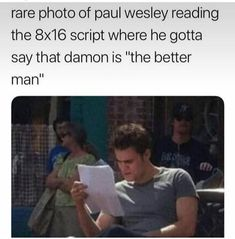 tvd 😂😂 About Acne, its Types & Symptoms What is Acne? The Vampire Diaries, Paul Wesley Vampire Diaries, Damon Salvatore Vampire Diaries, Vampire Diaries Poster, Ian Somerhalder Vampire Diaries, Vampire Diaries Wallpaper, Vampire Diaries Seasons, Vampire Diaries The Originals, Stefan Salvatore
