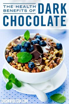 The 4 Health Benefits of Dark Chocolate
