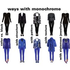 ways with monochrome
