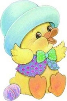 papers.quenalbertini: Vintage Easter Chick Image | facilisimo