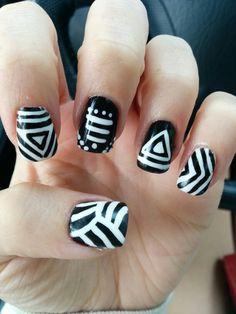 Aztec gel nails
