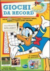 Prezzi e Sconti: #Giochi da record. summer enigmistica  ad Euro 5.86 in #Walt disney company italia #Libreria dei ragazzi