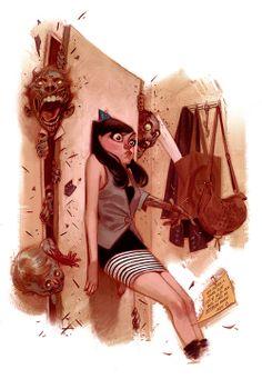 Julian Totino Tedesco--I think the girl's face is hilarious