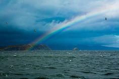 Arco Iris en el Canal de Beagle