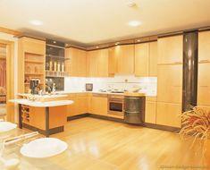 Modern Two-Tone Kitchen Cabinets #10 (Kitchen-Design-Ideas.org)