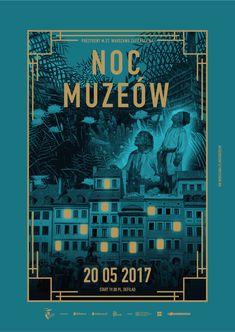 Image result for noc muzeow sklep plakat