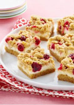 Apple-Cranberry Crumb Bars -- The addition of chopped Gala apples and cranberries transforms a yellow cake mix into this scrumptious crumb-topped dessert.