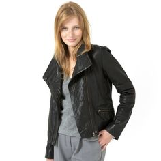 Browse our gorgeous Jackets. Cosy up in fabulous French fashion with Women's parkas & blouson coats from La Redoute. Cardigan Fashion, Open Cardigan, Leather Jacket, Jackets, Club, Style, Style Ideas, Womens Fashion, Fashion Ideas