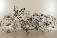 креатив. Скульптуры из проволоки от Мартина Сенна. (1)