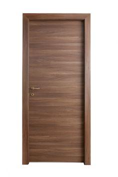 Noce Leuca Matrix | Laminato | Contract | New Design Porte Door And Window Design, Bedroom Door Design, Wooden Door Design, Front Door Design, Front Door Decor, Modern Entrance Door, Modern Wooden Doors, Contemporary Doors, Modern Door