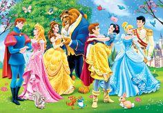 all disney couples