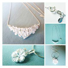 Gumamela & Kalachuchi necklaces, original designed by Joaillerie by VK. HK$320 & HK$600 respectively. Buy now: http://www.popweup.com/index.php?route=product/designer&designer_id=33  #原創 #設計 #設計師 #香港原創 #design #designer #designershop #onlineshop # online #style #sivlernecklace #silver#925 #flowernecklace #elegant #wedding #姐妹 #onlineshop #hkonline #popweup #popselect #hkcrafters #canadiandesign #canada #gumamela #kalachuchi #popweup #originaldesign
