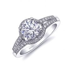 Coast #Romance Collection - #Engagement Ring LC10266. | www.goldcasters.com