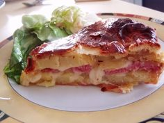 Tourte traditionnelle francomtoise Strudel, Quiches, Healthy Breakfast Recipes, Healthy Recipes, Quiche Muffins, Pancakes, Quiche Lorraine, Fat Foods, French Food