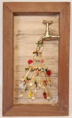 Rock Crafts, Crafts To Sell, Diy And Crafts, Arts And Crafts, Paper Crafts, Decoupage Vintage, Rustic Decor, Farmhouse Decor, Diy Bedroom Decor