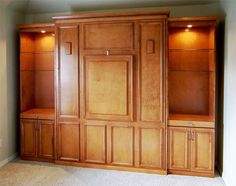 Ok, this is exactly what I've been looking for!  An American Housewife: Guest Beds; Murphy bed