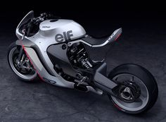 huge moto mono racer is an aggressive yet refined concept motorcycle #design #moto
