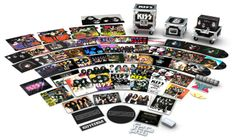 Rare Vinyl Records, Vinyl Records For Sale, Kiss Merchandise, Road Cases, Mercury Records, Best Rock Bands, Hot Band, 40th Anniversary