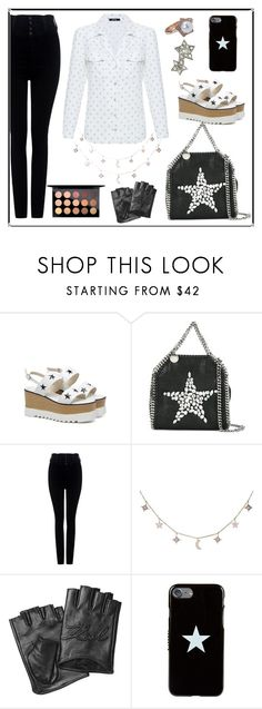 """""""Untitled #2054"""" by ebramos ❤ liked on Polyvore featuring STELLA McCARTNEY, Citizens of Humanity, Luna Skye, Karl Lagerfeld, Givenchy and MAC Cosmetics"""