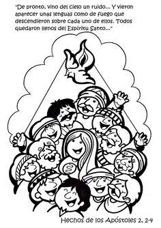 La Catequesis: Vía Crucis para colorear los niños de
