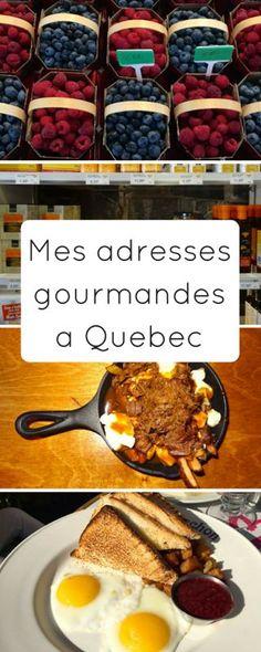Mes adresses gourmandes à Quebec City #quebec #canada #bonnesadresses
