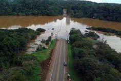 Inundaciones y cortes de rutas.