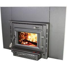 Ashley Hearth Products Wood-Burning Insert — 79,000 BTU, Model ...