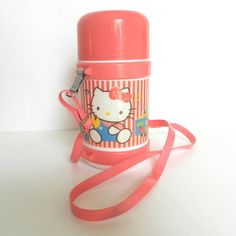 80's HELLO KITTY THERMOS  Sanrio / Kawaii / Cute / by SolGood808