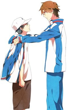 """Echizen, become Seigaku's Pillar of Support. Cute Anime Boy, Anime Love, Prince Of Tennis Anime, Mermaid Melody, Samurai, Funny Anime Pics, My Prince, Me Me Me Anime, Anime Characters"