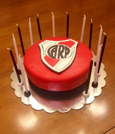 River Plate Birthday Cake