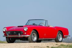 1961 Ferrari 250 GT Series II Cabriolet.