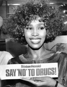 Whitney Houston - Boston, Massachusetts - Aug. 1, 1986. Photo: © Arthur Pollock/Boston Herald/Sygma/ Corbis ...