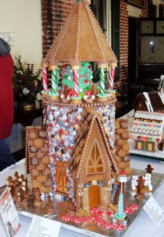 Historic Gettysburg Hotel Gingerbread House Celebration