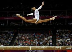 Gabby Douglas, Beam Event Final, London 2012 Olympics, Photo: Brian Peterson - Star Tribune