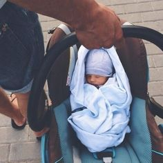 """Andrew carried the car seat with the sleeping newborn out of the hospital that day."