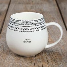 """""""Cup of Courage"""" Mugs"""