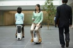 Honda Uni-Cub chair means you'll never have to walk anywhere again