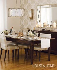 Photo Gallery: Vote For Your Favourite H&H Dining Room | House & Home