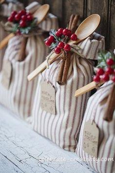 christmas wedding favors | Christmas wedding | Un matrimonio per Natale…