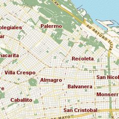 GETTING AROUND Subte Map Of The Buenos Aires Underground System - Argentina subte map