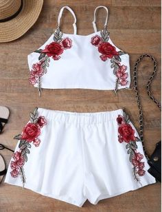 #fashionaddict #white #mylook #croptops #girly #girlystyle #girlywishlist #crop #rose #instamode #ootd #instalook #women #woman #ladies #shorts #fashiondiaries #trendy #instalooks #romper #dressy #girl #twopiece #instaglam #cropped #outfit #lookoftheday #outfitiftheday #style #girly #jumpsuit https://goo.gl/Q5at91