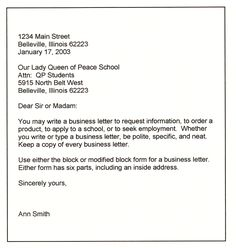 Business Refund Letter  A Letter Is An Effective Way To