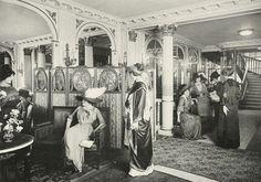 Maison Paquin - 3 Rue de La Paix - Le Salon de Vente - 1910
