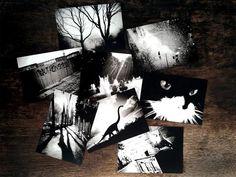 Doppelseitige Postkarten Grußkarten für Fotografie Foto Karten Dekor