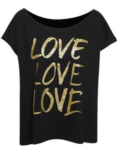 Čierne dámske oversize tričko s potlačou ZOOT Originál Love love love The Originals, Mens Tops, T Shirt, Women, Fashion, Supreme T Shirt, Moda, Tee Shirt, Fashion Styles
