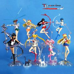 My Sailor Moon S.H. Figuarts Collection ... so far by zelu1984. AMAZING