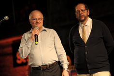 Ilustradores Jal e Gual, fundadores do prêmio HQMix