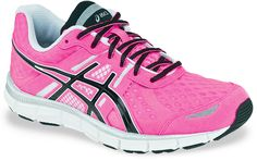 The Asics Gel Blur 33.  My absolute favourite running shoes.  Mine are bright yellow :)